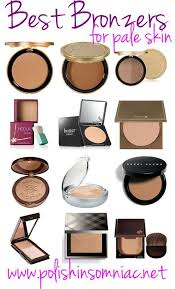 best bronzer for light skin best bronzers for pale skin make up fair skin and dupes