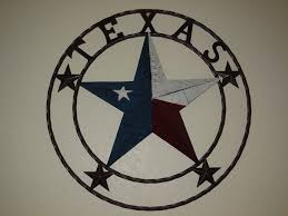 Lone Star Home Decor by Texas Barn Star License Plate Metal Wall Western Home Decor New
