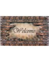 Entryway Door Mats Amazing Deal On Offset Brick Pattern Door Mat Black Rubber