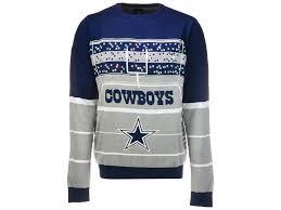 cowboys sweater dallas cowboys klew 2017 nfl s light up sweater lids ca