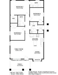 simple rectangular house plans 4 bedroom rectangular house plans ground floor house plan idea