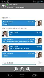 microsoft lync 2013 for android lync 2013 for android free and software reviews cnet