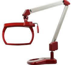 Desk Lamp With Magnifying Glass Sewing Lamps With Magnifier 3x 45x 3 Led Light Handheld