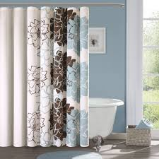White And Brown Curtains Curtain Tips Ideas Forhoosing Bathroom Windowurtains With Photos