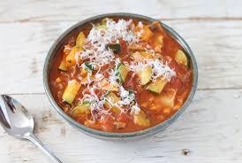 vegetarian lasagna soup recipe runner