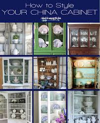 Farmhouse China Cabinet I Should Be Mopping The Floor China Cabinet Styling Ideas
