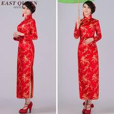 aliexpress com buy long sleeve cheongsam chinese dress silk