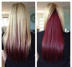 dye bottom hair tips still in style best 25 underneath hair colors ideas on pinterest dying