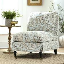 armless accent chair slipcover armless accent chair covers slipcovers for chairs scroll