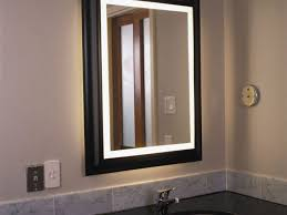 bathroom lighted mirror 28 light up vanity with regard to awesome