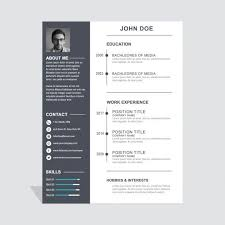 25 Examples Of Creative Graphic by Graphic Curriculum Vitae 50 Awesome Resume Designs That Will Bag