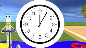 Time Telling Time For Children Learning The Clock Youtube