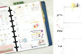 time design planner template weekly planner template