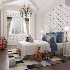 kids room stars pattern wallpaper boys cartoon bedroom import