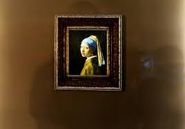 girl with pearl earring painting girl with pearl earring to undergo examination
