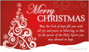 merry may the god of fill you with all and