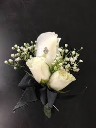 boutonniere flower boutonniere white roses in valley ca lavender memory