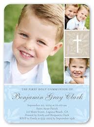 communion invitations boy floral cross boy 5x7 invitation communion invitations
