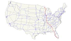 Florida Toll Road Map by U S Route 41 Wikipedia