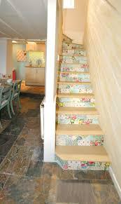 treppe dekorieren dekorieren mit tapete erstaunlich auf moderne deko ideen mit die