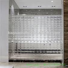 Peva Shower Curtain Liner Heavy Duty Peva Shower Curtain Liner Non Toxic Odor 10 Gauge Buy