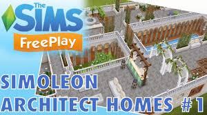 sims freeplay new simoleon architect homes buy real estate