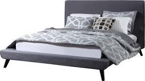 mercury row valle upholstered platform bed u0026 reviews wayfair