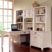 White L Shaped Desk With Hutch Kathy Ireland Desk Foter