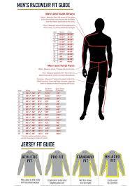 motocross helmet sizing chart