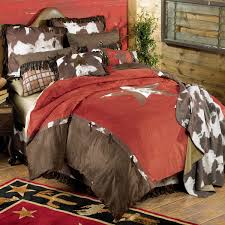 Cowboy Bed Sets Western Bedding Size Cowhide Bed Set Lone
