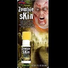 zombie fake skin realistic walking dead halloween costume makeup