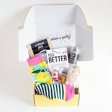 feel better care package get well care package the confetti post the confetti post