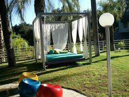 custom furniture design of outdoor bed swing by h studio united