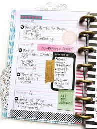 social media planner using a mini happy planner as a social media planner me my