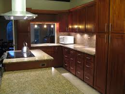 Red Mahogany Kitchen Cabinets Golden Cabinets U0026 Stone Inc