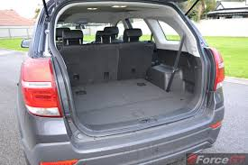 nissan altima boot space 2014 holden captiva 7 luggage space forcegt com