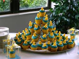 rubber duckie baby shower rubber ducky cupcakes thepartyworks