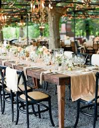 Garden Table Decor Summer Wedding Table Décor Bianca Silvia Porrino W Pulse