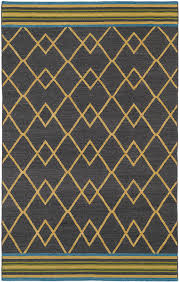 Scandinavian Area Rugs by Nomad Nom03 Charcoal Rug From The Scandinavian Rugs I Collection