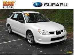 subaru hatchback white 2007 satin white pearl subaru impreza 2 5i wagon 37945776