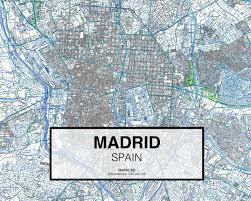 Madrid Map Madrid Dwg Mapacad