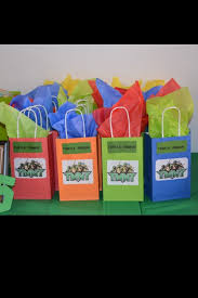 where to buy goodie bags 12 best diy turtles birthday images on
