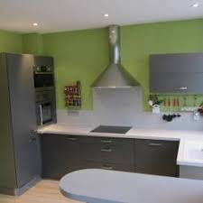 cuisine gris vert photos décoration de cuisine moderne design gris vert de chonchon