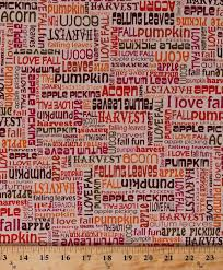 cotton fall words activities autumn harvest fonts phrases writing