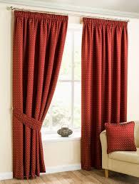 Geometric Orange Curtains Geometric Pencil Pleat Curtains View Curtains Online Now