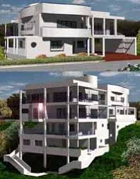 custom modern home plans unique ultra modern home design custom and stock house plans by
