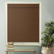 Thermal Lined Roman Blinds Roman Shades Shades The Home Depot