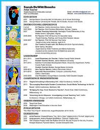 110 Best Teacher And Principal by Art Teacher Resumes 28 Best Resumes Images On Pinterest Resume