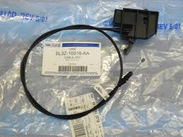ford f150 hood release cable handle new oem part 6l3z 16916 aa ebay