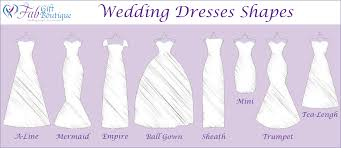 wedding dress type find the wedding dress for your type the fab